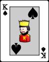 rei cartas jogo da sueca